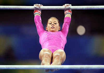 Shawn johnson gymnastics bars